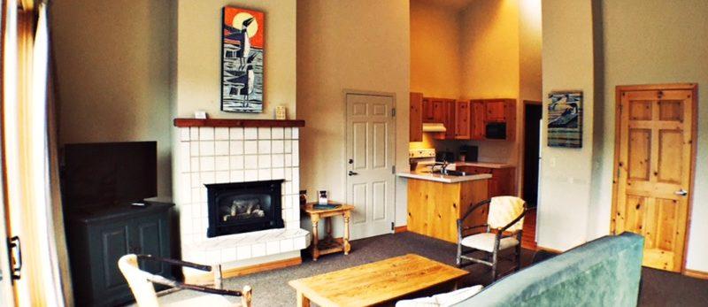 Suite at the Mountain Lake Lodge in Bigfork Montana