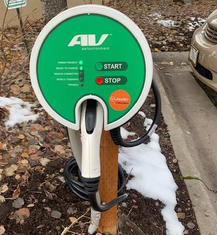 Mountain Lake Lodge Bigfork Hotel Electric Car Charger